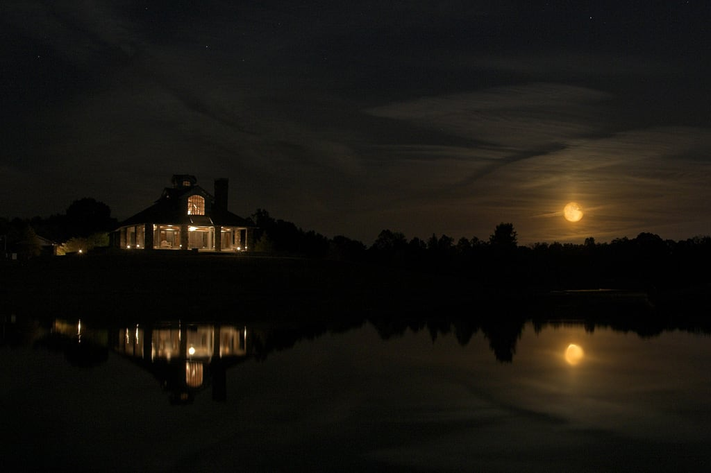 Clubhouse at night