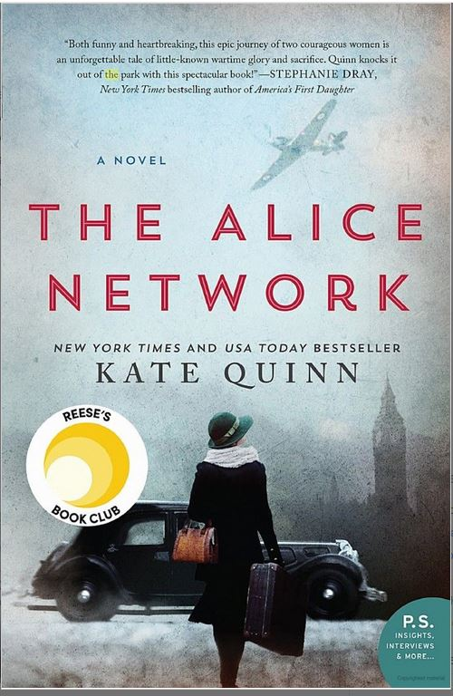 The Alice Network Sept Book Club
