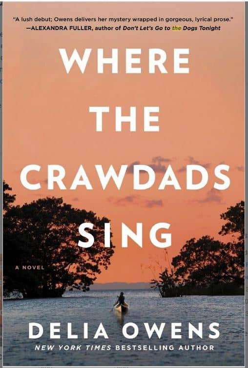 Where The Crawdads Sing July Book Club