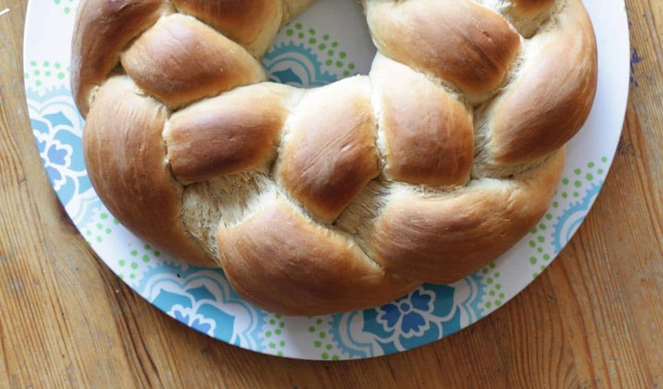 Sweet Dough Braided Bread